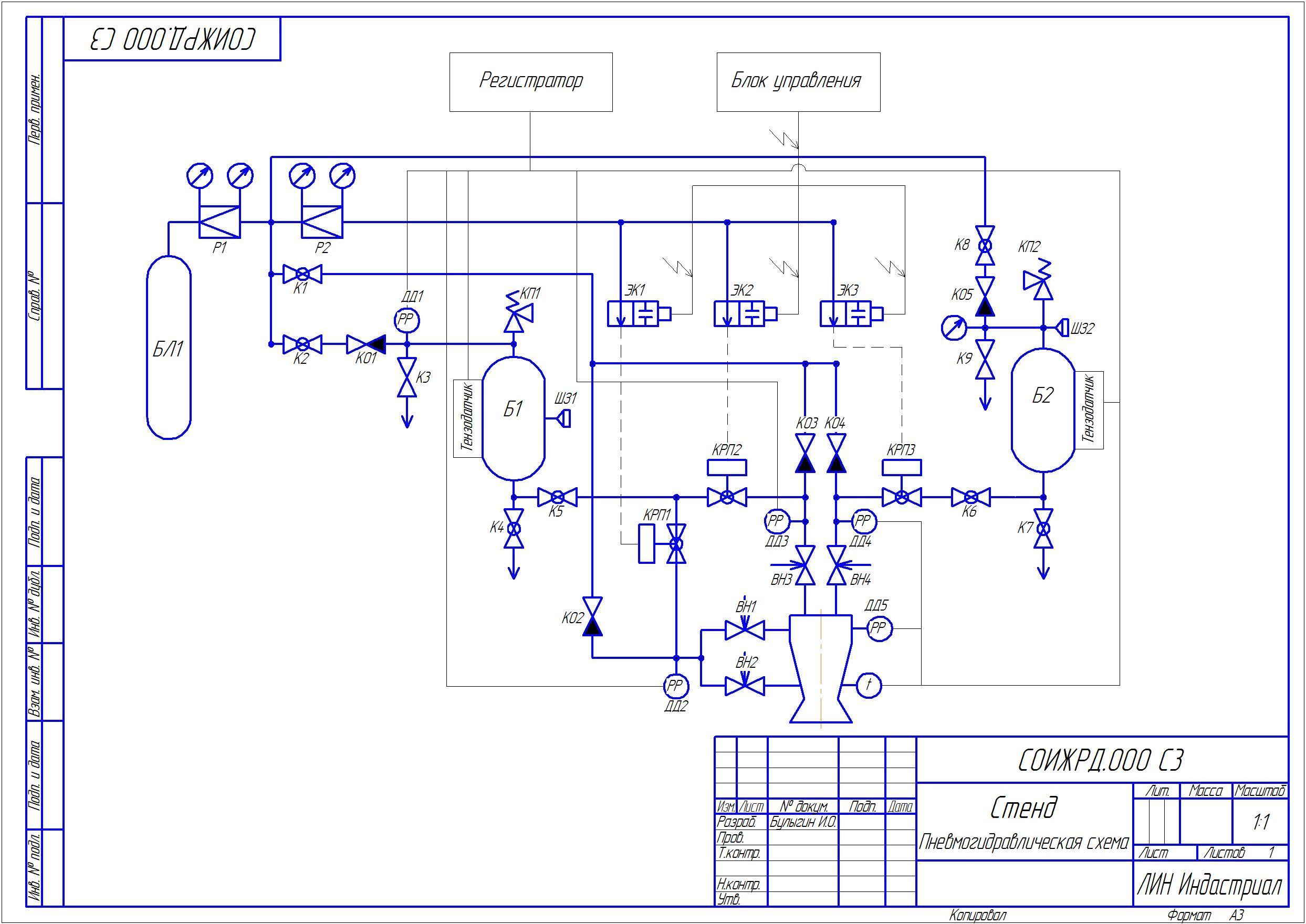 News Assembly Of The Engine Test Stand Continues Fuel Tank Schematic Diagram Nitrogen From Bl1 1 Gas Cylinder Is Used To Pressurize Oxidizer And Tanks Control Valves On Lines Feeding Main Propellants Coolant
